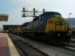 CSX 7872 & UP 2998